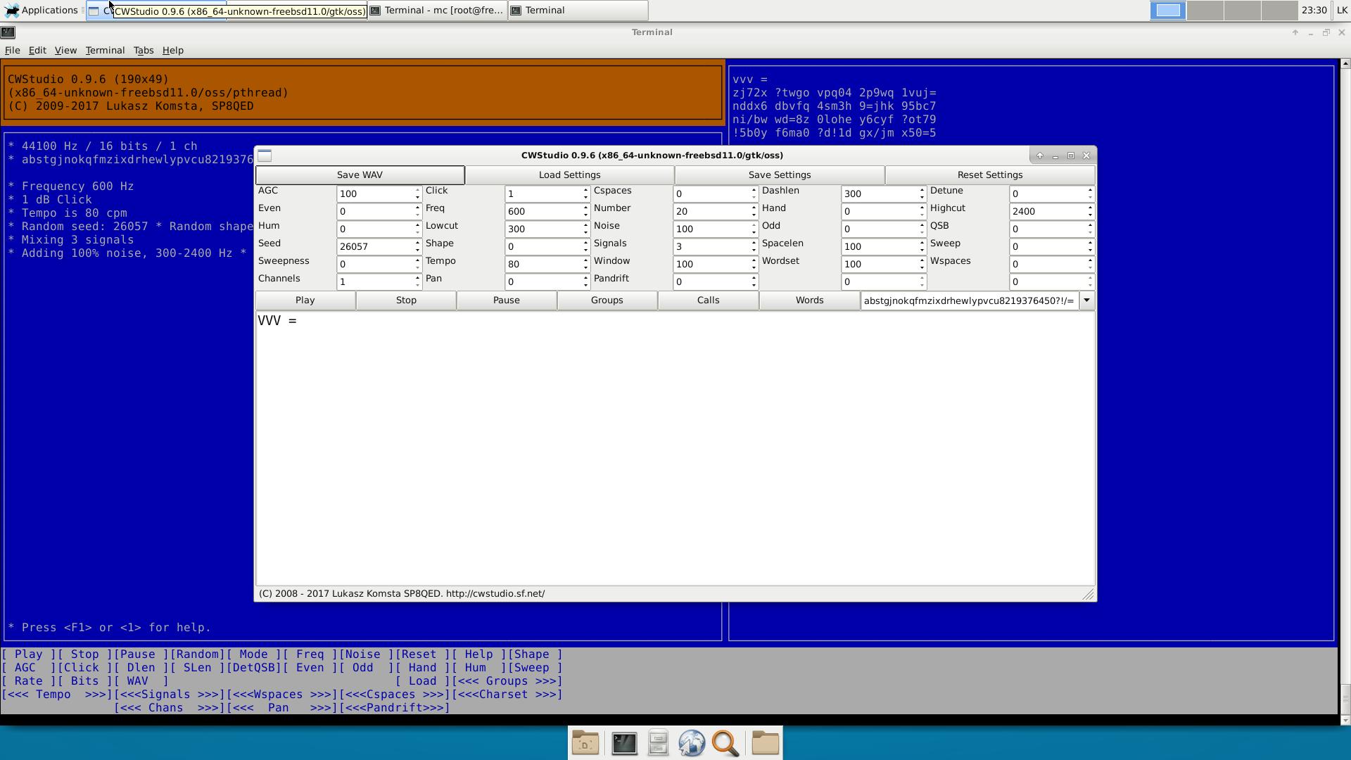 CWStudio for Linux full screenshot