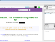 Yes. You can use Tor with CD 1.5.4