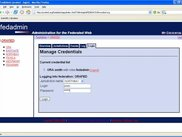 Login as a DACS ADMIN_IDENTITY