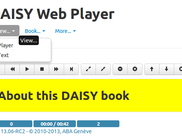 Daisy Web Player 13.06 in Chrome,  rewamped!