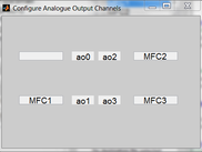 Configuring analogue outputs in Kontroller