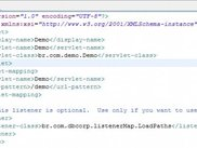 3. Web.xml - this is the only needed configuration file