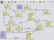 Developing database schema diagrams