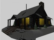 Sample scene - Cabin