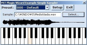 Simple Sampler Example (new)