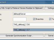 deltaclient makes easy to synchronize databases