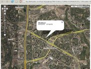 Desktop Atlas is integrated with Google Maps web service