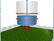3D Animation of Watertank