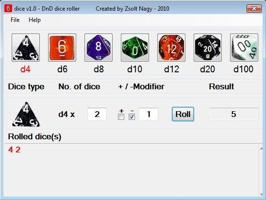 rpg dice roller download