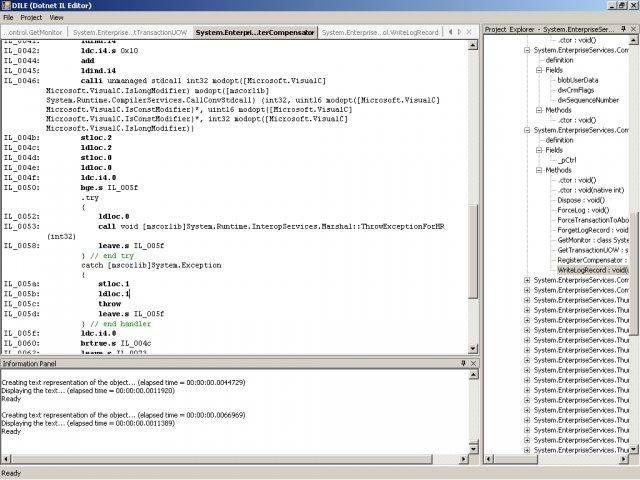 Dotnet IL Editor (DILE) v0.2.9