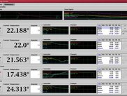 Debugging console, full view