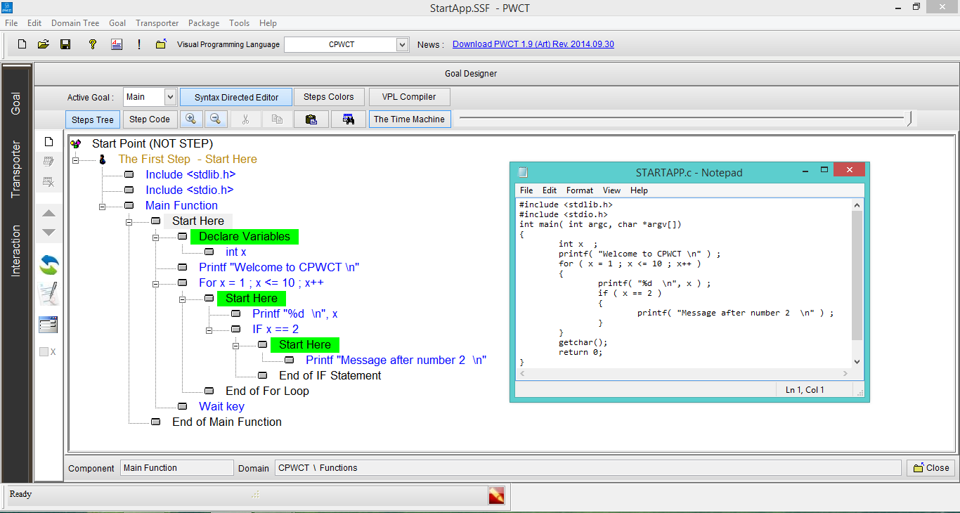 Programming without coding technology download Compiler for c language