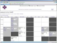 "Shot of the ""Today"" Scheduling View"