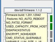 mouse over device, shows firmware features