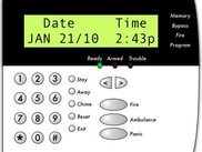 Virtual Alarm Keypad