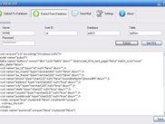 Extract XML Model from Database