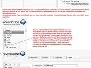 Roundcube screenshots (Public Folders, LDAP addressbook,...)