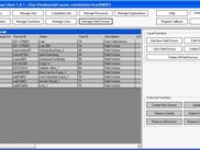 Manage Field Devices Screen of EService CS Full Client.