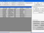 Manage Users Screen of EService CS Full Client.