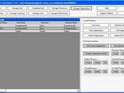 Manage Organizations Screen of EService CS Full Client.