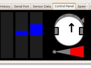 Robot Control Panel v1.1 on Linux