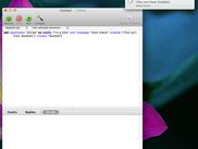 Imitating TextEdit with AppleScript