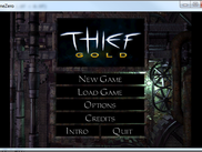 Fully functional Thief menu, with all animations, sounds and cinematics
