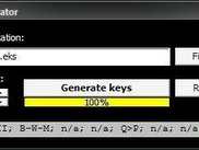 Integrated key generator