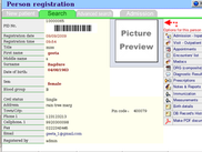 Patient Details Screen in e-Svaasthya