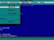 FreeDOS Edit for Win32 in action.