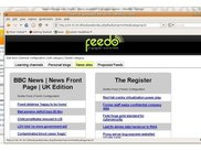 Feedo: News sites