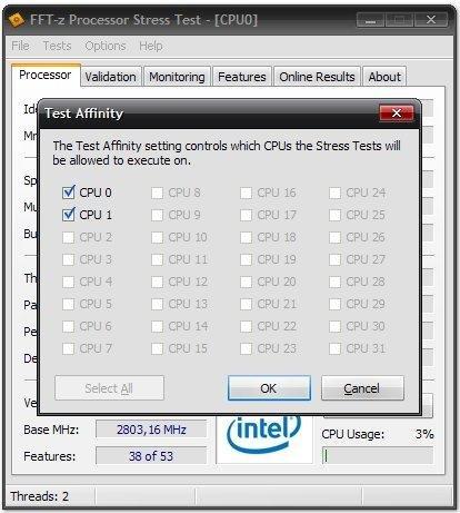 FFT-z screenshot
