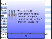 BrowserTest sample application main page