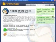 Firemonger - Thunderbird Start Page