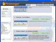 Firemonger - Firefox Themes Page