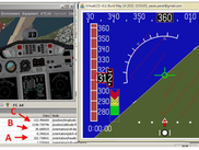 FG connected to FGC and a EFIS display system