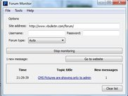 1Forum Monitor in action on a vBulletin forum