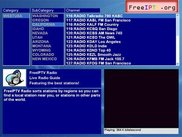 Radio Page Screenshot