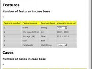 Info JSP-page of small case set
