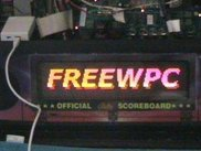 FreeWPC running on World Cup Soccer '94