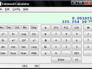 The Main Calculator Window