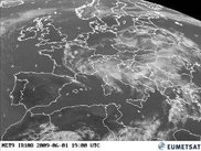 Pictures from weather satellites