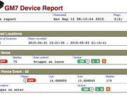 Device report page 2