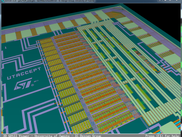 Render complete chip layouts