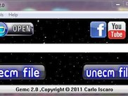 Gemc  2.0 Main Window