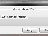 Associate Gemc With The .ecm Extension