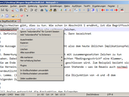 GNU Aspell integrated into Notepad++ via the DSpellCheck plugin