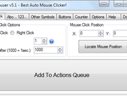 AutoMouser - Mouse click tab