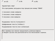 "WinForms application (switched to ""ru-RU"")"