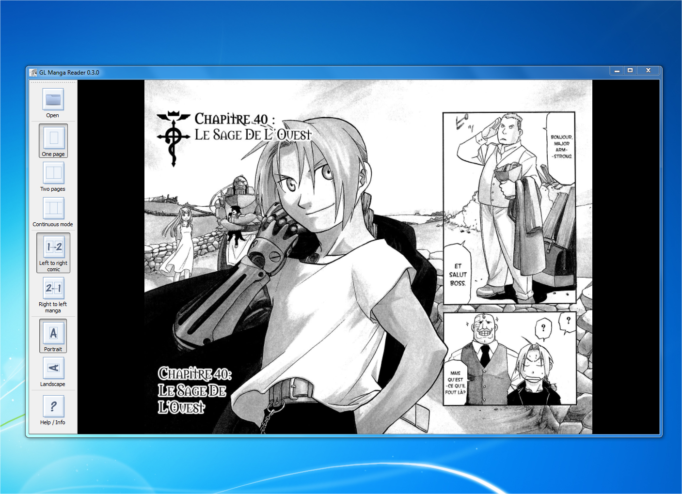 Manga Reader Desktop App